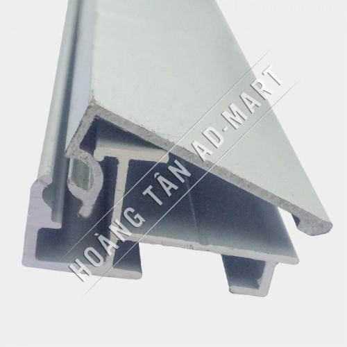 nhôm hộp đèn siêu mỏng nắp bật 2,5cm
