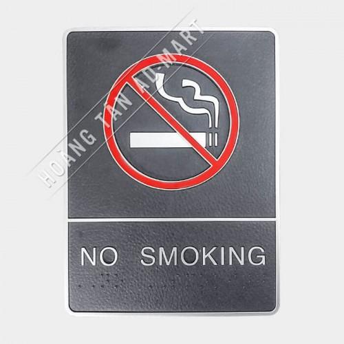 bảng chỉ dẫn no smoking - không hút thuốc